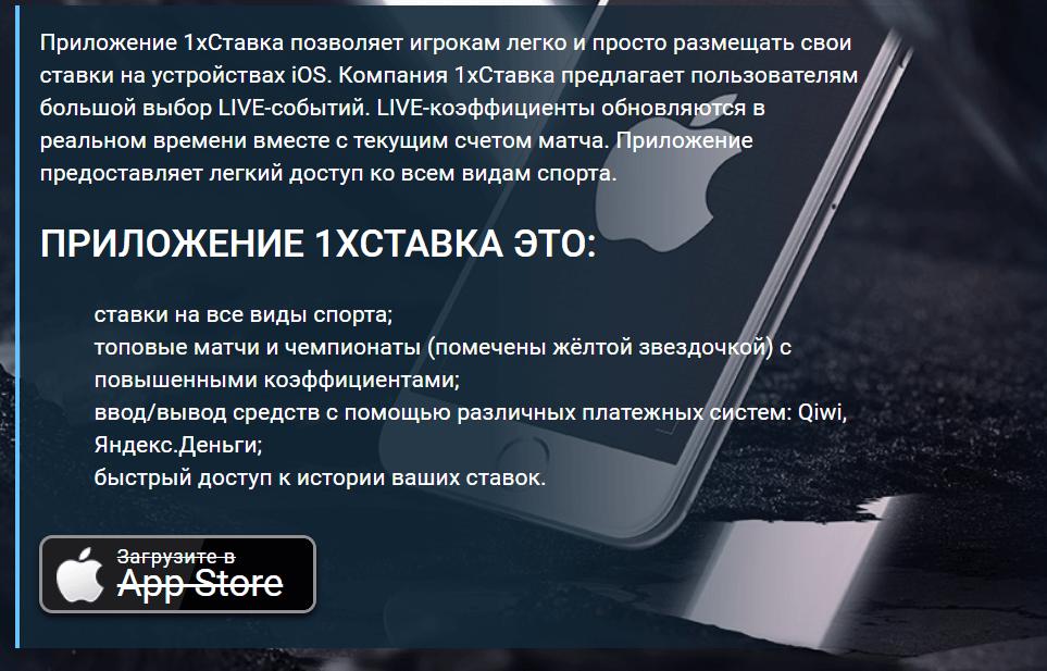 Преимущества приложения для Apple